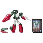 Transformers Generations Titans Return Titan Master Grax and Skullsmasher (6.41 cm)