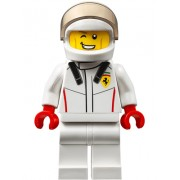 sc051 Minifigurina LEGO Speed Champions-Pilot Ferrari sc051