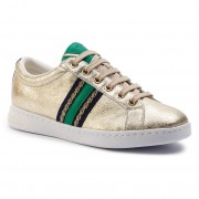 Geox Sneakers GEOX - D Jaysen A D921BA 0VIBC C2L3Q Lt Gold/Green