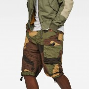 G-Star RAW Tendric Deconstructed Loose 1/2-Length Shorts
