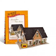 Cubicfun 3D Puzzle - Beer House Germany Flavor - W3126H
