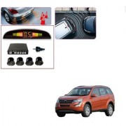 Auto Addict Car Black Reverse Parking Sensor With LED Display For Mahindra XUV 500 New