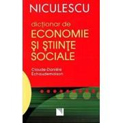 Dictionar de economie si stiinte sociale/Claude-Daniele Echaudemaison