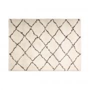 Miliboo Teppich beige Polypropylen 200 x 290 cm BERBERE