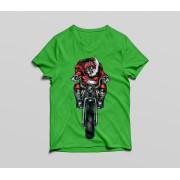 Tricou de Craciun Moto Santa
