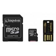 Kingston MicroSDXC Klass 10 med minneskortläsare, 64GB