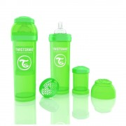 Biberon Twistshake Anti - Colici 330 ml Verde