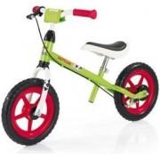 "Bicicleta Kettler Speedy Emma, fara pedale, Roti 12.5"" (Verde/Rosu)"