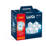 Pachet Cana filtranta Laica Stream + 6 cartuse Bi-Flux