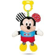 Clementoni Mickey plüss hanggal és fogantyúval
