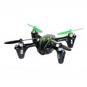Hubsan X4 H107C 2.4GHz 4-Channel RC Quadcopter With HD 0.3MP Camera (Negro + Green)
