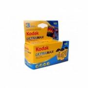 Kodak Ultra Max 400 - film negativ color ingust, pachet de 3 (ISO 400, 135-24)