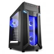 Sharkoon VG6-W Blue , Acryl ablakos oldallap