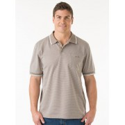 Cougars Knit Latte Polo