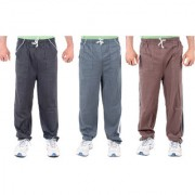K-TEX Multi Hosiery Trackpants Pack of 3