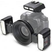 MEIKE Kit Flash Macro MK-MT24 TTL para Nikon