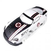 Coolplay 1/10 PVC On Road Drift Car Body Shell RC Racing Accessories Dodge Viper SRT10 ACR-X (White)