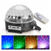 Bola Disco Led RGB Magic Ball Luces con Reproductor Mp3