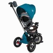 Tricicleta multifunctionala 4 in 1 cu sezut reversibil Coccolle Velo Air Verde