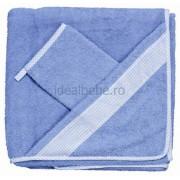 Feretti - Prosoape 100x100 cm albastru