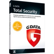 G Data Total Security 2018 - 4 postes - Abonnement 2 ans