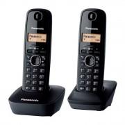 Phone, Panasonic KX-TG1612FXH, DECT, Black (1015064)