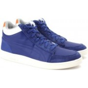 Puma MCQ SERVE MID Blue Sneakers For Men(Blue)