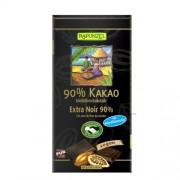 Ciocolata Amaruie 90% Cacao si Zahar de Cocos 80gr Rapunzel