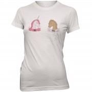 The Unicorn Collection Camiseta Unicorn Me Versus You - Mujer - Blanco - XL - Blanco
