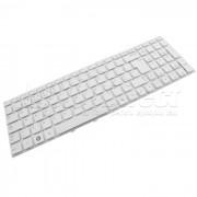 Tastatura Laptop Samsung NP300E5V alba layout UK + CADOU