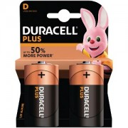 Duracell Plus de type D (Pack de 2) (MN1300B2)