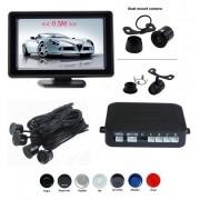 Senzori parcare cu camera video si display LCD de 4.3 inch S602