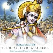 Bhakti Coloring Book: Deities, Mandalas, and the Art of Playful Meditation, Paperback