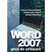 WORD 2007 ghid de utilizare