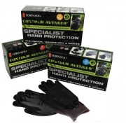 TORNADO Contour Avenger Special Hand Protection Work Gloves 10 Box - Small to Medium Size 8