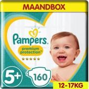 Pampers Premium Protection - Maat 5+ - Maandbox- 160 luiers