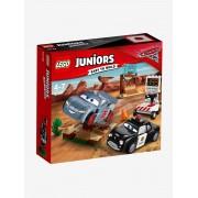 10742 A Pista de Treinos em Willy's Butte, Lego Junior vermelho medio bicolor/multico