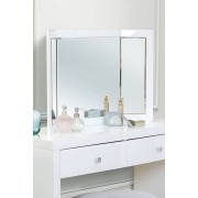 My-Furniture Miroir triptyque COLLETA blanc
