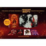 Lions Gate Home Entertainment Hellboy 4K ultra HD (incluye Blu-ray 2D) - Steelbook Edición Limitada Exclusivo de Zavvi