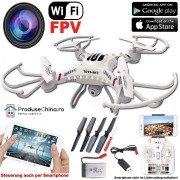 Drona Profesionala cu control de pe Smartphone si camera Wi-Fi