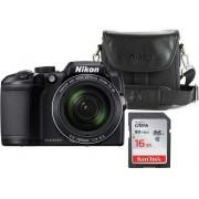 COOLPIX B500 Black + Bag + 16GB SD