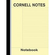 Cornell Notes Notebook: Note Taking Paper - Yellow, Paperback/Bizcom USA
