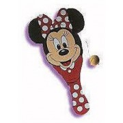MICKEY MOUSE DISNEY MICKEYS STUFF FOR KIDS PADDLE BALL MANUFACTURED IN 1993 BY TOOTISTOY