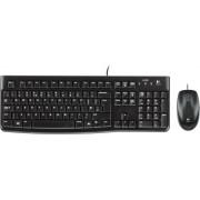 Tipkovnica + miš Logitech MK120 Desktop, crna, USB