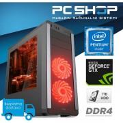 PC Računalo MagazinRS Kaby Lake Intel G4560 3.5GHz, GTX 1050Ti 4GB, 8GB DDR4 RAM, HDD 1TB, DVD-RW