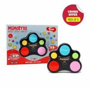 Toiing Memorytoi Return Gift Combo - Pack of 6 Electronic Memory Games Great Travel Toy for Kids