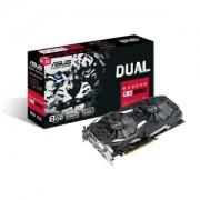 Placa Video Asus RX 580 8GB GDDR5/DUAL-RX580-8G