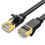 Płaski kabel sieciowy UGREEN NW106 Ethernet RJ45, Cat.7, STP, 3m (czarny)