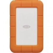 """HDD External 2.5"""" Rugged Secure USB 3.1/C 2TB Silver/Orange"""