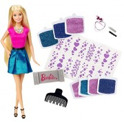 Barbie Glitter Hair Design Doll, Multi Color